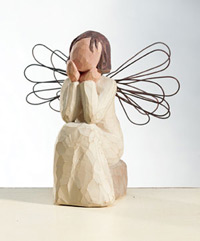 Willow Tree® sculptures from DEMDACO - Angel of Caring